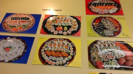 Jumbo Sushi Party Trays