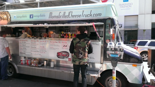 Mom's Grilled Cheese Food Truck