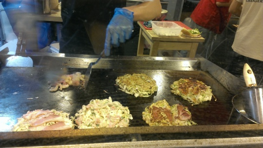 Richmond Night Market, okonomiyaki