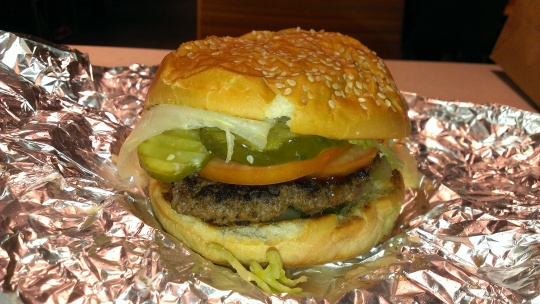 Five Guys Burgers and Fries Vancouver