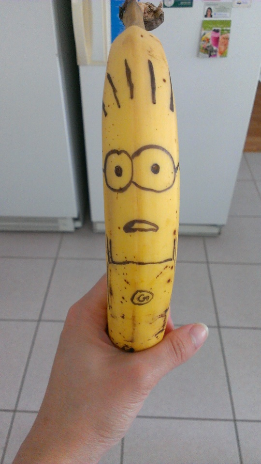 Banana Minion Despicable Me