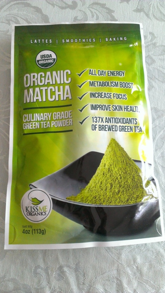 KISS Me Organics Matcha Powder