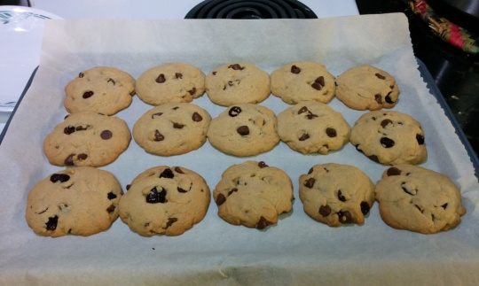 Chocolate Chip No Mixer Cookies