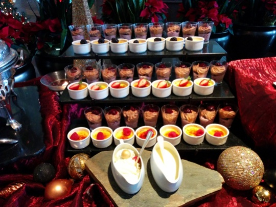 Cafe Pacifica Christmas Buffet